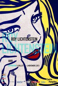 Affiche Lichtenstein