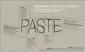 Invitation-Palais de Tokyo-101212